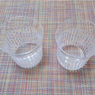 ロックグラス2個