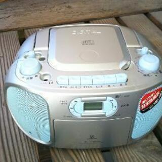 CDラジオカセットレコーダー