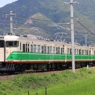 鉄道写真 しなの鉄道 115系S7編成(初代長野色) 屋代工場出...