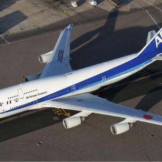 飛行機写真 全日本空輸 B747-400 JA8096