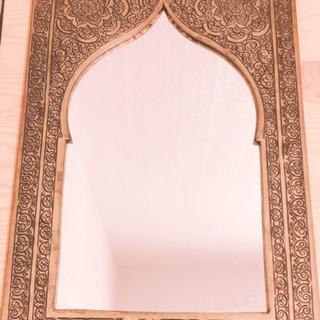 鏡 アラビアン風