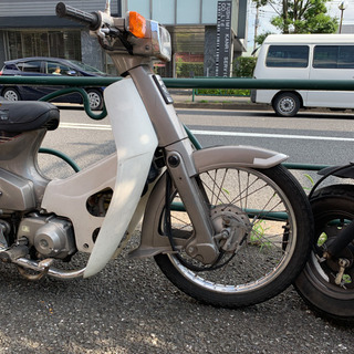 ホンダ スーパーカブ90 カスタム 角目 実働 ノーサス …