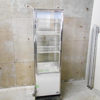 サンヨー SSR-DX170N キャスター付き5面ガラス冷蔵ショ...