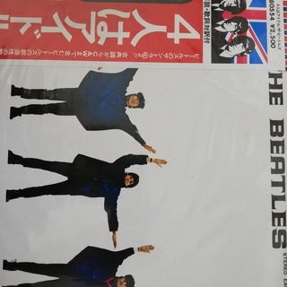 LP レコード 4人は アイドル