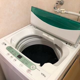 洗濯機 YWM-T45A1 美品です。
