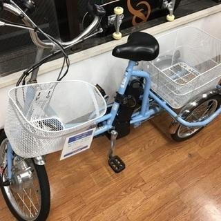 お買い物に最適!電動アシスト三輪車
