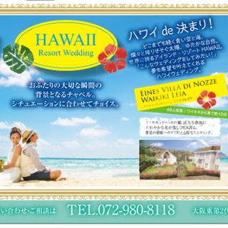 🌺2人でハワイで新婚旅行を兼ねて結婚式🌺なんと!先着5組様→現在...