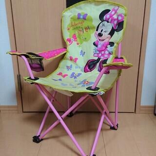 値下げ★ミニー★キッズ用 折りたたみ椅子