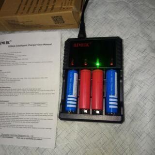 [新品]1.2V~3.7V混在でも充電可能