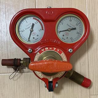 ヤマト産業 ガス圧力調整器 レギュレーター YR-71 (アセチ...