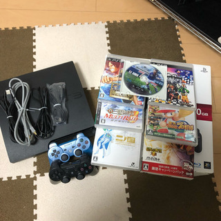 PS3本体 ソフト7セット コントローラ2個