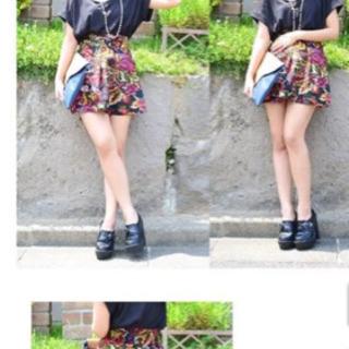 【美品】ゴブラン織りスカート
