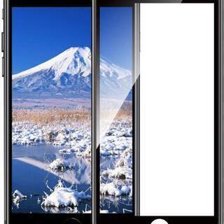 【新品未使用】AMORNO iPhone8 ガラスフィルム iP...