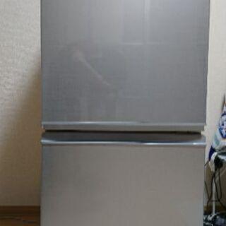 冷蔵庫 SHARP SJ-D14C 2017年製 お譲りします