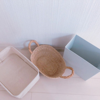 無印良品 ソフトケース バスケット ゴミ箱