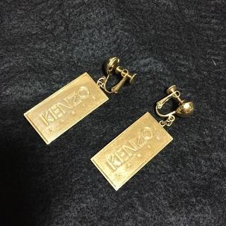 KENZO ケンゾー ゴールドプレートイヤリング