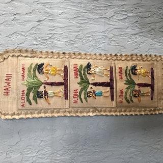 ハワイ土産 楽しい状差し ハガキホルダー