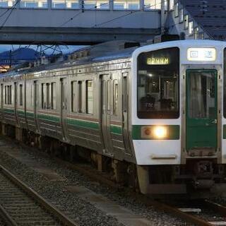 鉄道写真 JR東日本 719系 H-4編成+H-15編成 廃車回送