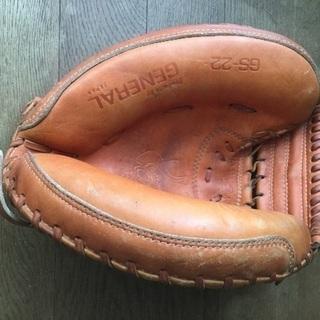 古い野球グローブ(キャッチャーミット) 差し上げます。