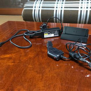 NTT docomo卓上ホルダーF39、FOMAソケット充電器、