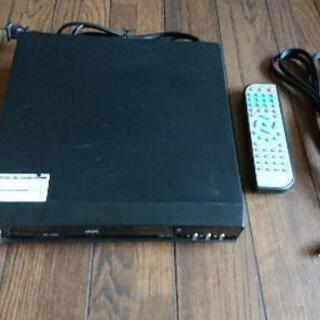 DVDプレイヤー A-DC201-D1    SDカード再生