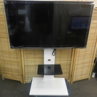 ☆美品☆液晶TV TV台付き FUNAI 4K49型 HDD内蔵...