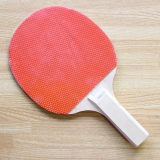 卓球のラケット(なんちゃってシェークハンド)