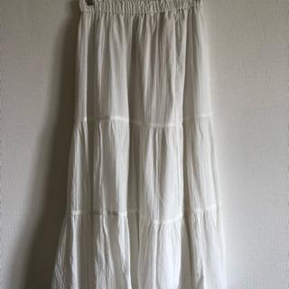 サマーロングスカート(ユニクロ)