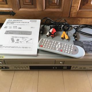 【良品】DVD/VHSコンビネーションデッキ