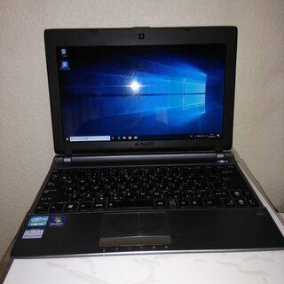 windows10パソコン asus u24e