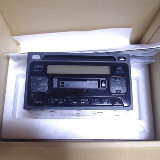 トヨタ純正 CDカセットチューナーアンプ KCN-5170