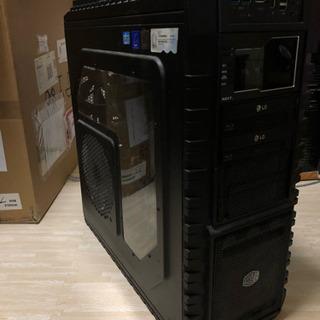 自作ゲーミングPC 新品SSDにて初期化済み!!