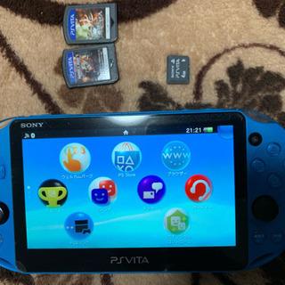 PSP vita 青色