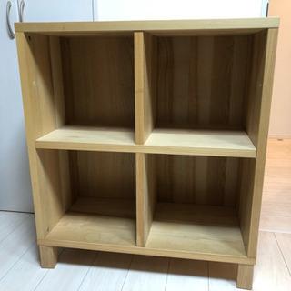 IKEA 木製棚 トレービー TRABY 80×80cm