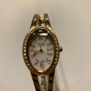 【美品】腕時計 リング型 ゴールド