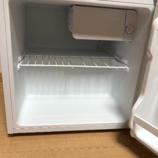★引取限定 美品 冷蔵庫 YAMADAノンフロン 45L - 家電