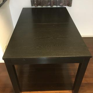 IKEA ダイニングテーブル+チェア(4個) セット 中古品