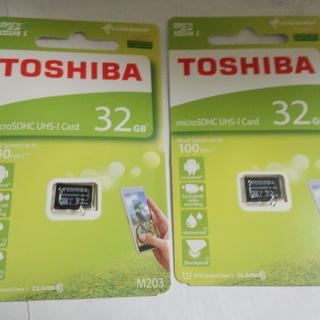 在庫処分品】東芝/TOSHIBA◆マイクロSDカード 32GB ...
