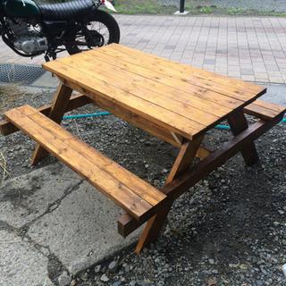 手作りテーブル&椅子をお譲りします!