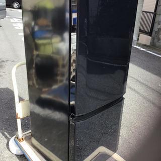 中古 三菱ノンフロン冷凍冷蔵庫 2016