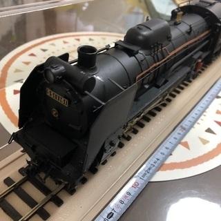 D51蒸気機関車 アクリルケース付きです。