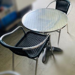 ★カフェテーブル★ 今流行りのベランダカフェ♪にいかがですか?