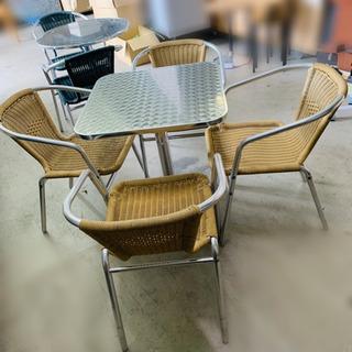 ★カフェテーブル★ 椅子セット 今流行りのベランダカフェ♪にいか...