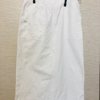 白のロングスカート【受渡し者決定】