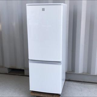 美品!シャープ ノンフロン冷凍冷蔵庫 167L 16年製◇ドア付...