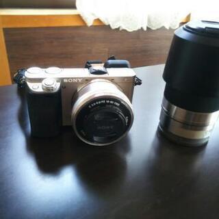 ソニーカメラミラーレス α6000