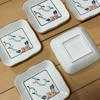 翠泉小皿5枚新品