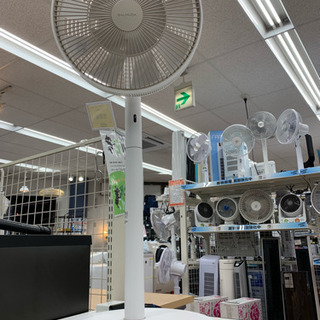 BALMUDAの扇風機です 夏場でも快適に過ごせます!