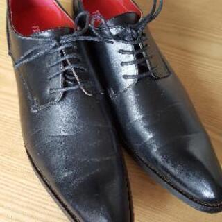 新品 男性 黒 靴 28㎝