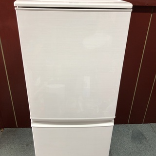 SHARP 137L 冷蔵庫 2017年製 お譲りします。(B)